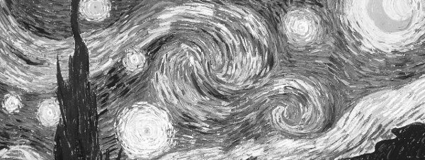 Starry Night, showing van Gogh's madness